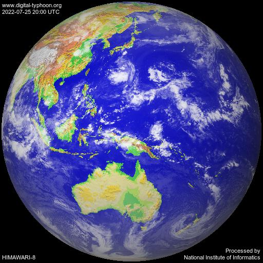 Meteorological Satellite Images (Digital Typhoon)
