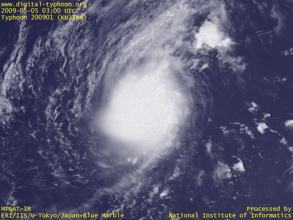 台風200901号