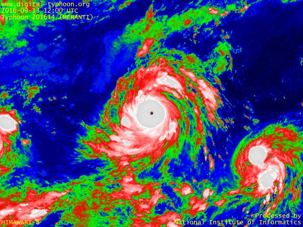 デジタル台風:2016年台風14号(ムーランティ MERANTI)関連する台風ブログ記事