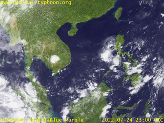 Satellite Picture - South East Asia