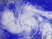 Typhoon Wallpaper Image : Typhoon 200401 (SUDAL) : The first typhoon image of 2004 on 0000 UTC