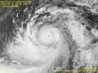 Typhoon Wallpaper Image : Typhoon 200406 (DIANMU) : Core of Typhoon DIANMU (0600 UTC)