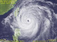 "Typhoon Wallpaper Image : Typhoon 200715 (KROSA) : Typhoon 200715 intensified to ""large and extreme"" category (06 UTC)"