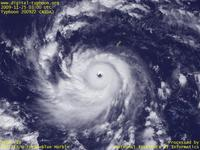 Typhoon Wallpaper Image : Typhoon 200922 (NIDA) : Typhoon NIDA showing a historically significant rapid intensification in south of Guam (03 UTC)