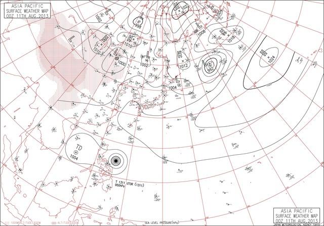 デジタル台風:100年天気図データベース - 過去の天気図アーカイブと ...