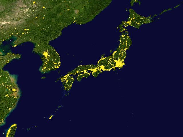 Earth in the night from space nighttime lights of the world data world stable lights gumiabroncs Choice Image
